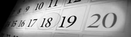 calendar grey